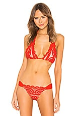 PILYQ Lace Halter in Lust