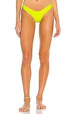 PILYQ Corie Teeny Bikini Bottom in Hightide