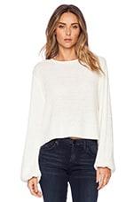 Clover Sweater in Cream