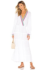 Pitusa Henrietta Dress in White