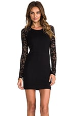 Vita Lace Dress in Black