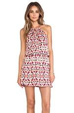 Parker Fleur Dress in Picasso Aztec