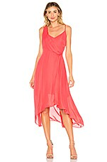 Parker Pippy Dress in Calypso Coral