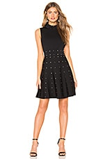 Parker Joy Knit Dress in Black