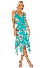 Parker Nolen Dress in Teal Magnolia