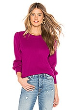 Parker Marceline Sweater in Dark Azalea