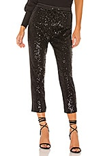 Parker Conner Combo Pant in Black