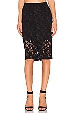 Parker Sandia Skirt in Black