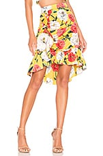 Parker Coraline Skirt in Lemon Wildflower