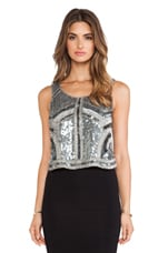 Eliza Tank in Gunmetal