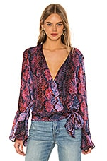 Parker Isabella Blouse in Serpentina