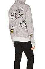 Polo Ralph Lauren Vintage Fleece Knit Hoodie in Dark Vintage Heather