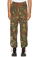 Polo Ralph Lauren Nylon Cotton Blend Pants in Camo