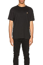 Polo Ralph Lauren Pima Short Sleeve Tee in Polo Black