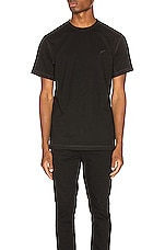 Publish Reverse Tee in Black
