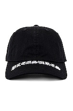 Pleasures Heavy Metal Low Profile Embroidered Snapback in Black