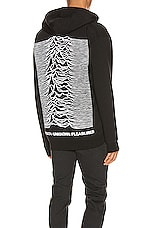 Pleasures x Joy Division Up Zip Hoodie in Black