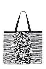 Pleasures x Joy Division Wilderness Heavyweight Tote Bag in Black