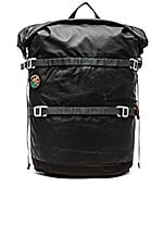 High & Dry 20L Rolltop Backpack in Black