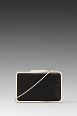 Clemence Minaudiere Clutch in Black