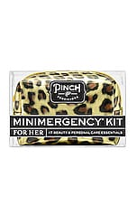 Pinch Provisions Leopard Minimergency Kit in Gold