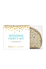 Pinch Provisions x Sugarfina Wedding Party Kit in Champagne Glitter