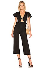Privacy Please Surrey Jumpsuit in Black