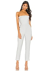 Privacy Please Cruz Jumpsuit in Light Blue