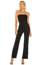Privacy Please Sandy Jumpsuit in Black