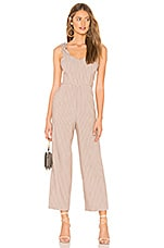 Privacy Please Candace Jumpsuit in Taupe