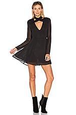 Privacy Please Gilette Dress in Black