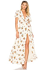 Privacy Please Plaza Kimono Dress in Creme