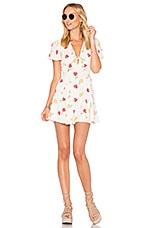 Privacy Please Dixie Mini Dress in Creme