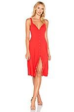 Privacy Please Andrews Dress in Red Orange