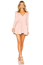 Privacy Please Calla Dress in Dusty Pink