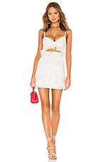 Privacy Please Mathews Mini Dress in White