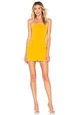 Privacy Please Teegan Mini Dress in Sunny Yellow