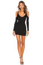 Privacy Please Flint Mini Dress in Black