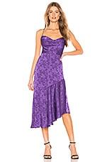 Privacy Please Marina Midi Dress in Purple