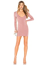 Privacy Please Kaya Mini Dress in Dusty Pink