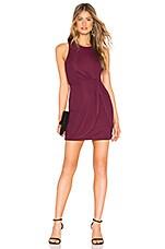 Privacy Please Lorna Mini Dress in Plum Purple