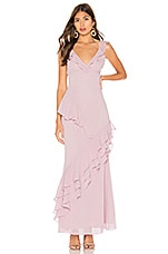 Privacy Please Tallulah Maxi Dress in Pale Lilac