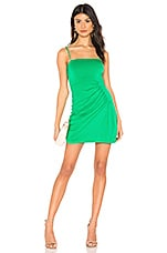 Privacy Please Suzanne Mini Dress in Kelly Green
