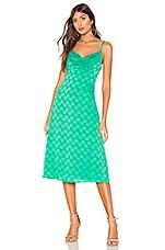 Privacy Please Antonia Midi Dress in Kelly Green