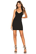 Privacy Please Sandra Mini Dress in Black