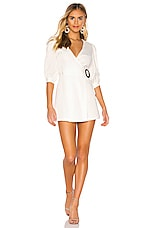 Privacy Please Marcela Mini Dress in White
