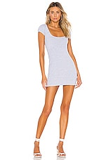 Privacy Please Reyes Mini Dress in Heather Grey