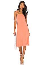 Privacy Please Nikko Midi Dress in Peach