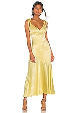 Privacy Please Nina Maxi Dress in Yellow