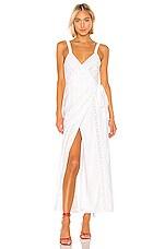 Privacy Please Loyola Maxi Dress in White